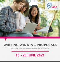 "Online training course ""Writing Winning Proposal"" 15 – 23 June 2021"