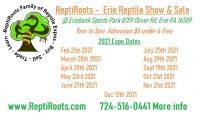 Erie Reptile Show and Sale April 25th 2021