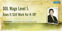 DOL Wage Level 1: Does It Still Work For H-1B?