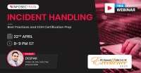 Free Live Webinar - Incident Handling – Best Practices and ECIH Certification Prep