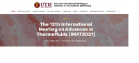 The 12th International Meeting on Advances in Thermofluids (IMAT2021)