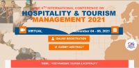 The 8th International Conference on Hospitality and Tourism Management (ICOHT) 2021