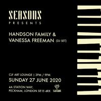 Armchair Rooftop Soul Sessions - Seasons Summer with Handson Family + Vanessa Freeman (DJ set)