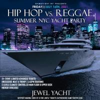NYC Summer Sunset Hip Hop vs Reggae® Cruise Skyport Marina