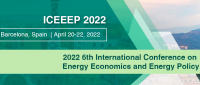 2022 6th International Conference on Energy Economics and Energy Policy (ICEEEP 2022)