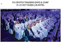 FX Crypto Trading Expo Dubai.