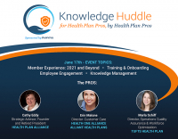 Knowledge Huddle for Health Plan Pros by Health Plan Pros