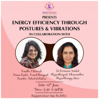 improve your energy efficiency through postures & vibrations.