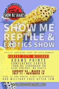 Show Me Reptile & Exotics Show (Kansas City, MO)