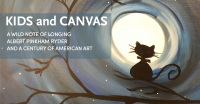 """Kids and Canvas - """"A Wild Note of Longing"""" painting event for kids"""