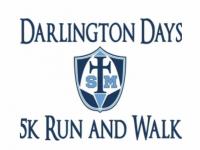 Darlington Days 5k Run/Walk. August 28, 2021