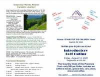 """Violette """"STAND FOR THE CHILDREN"""" Home INTRODUCTORY GOLF OUTING"""