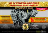 Workshop on IC Engines Assembling and Dismantling(Efficiency-2016)