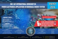Workshop on Power Electronics Applications in Renewable Energy System (Energy-2016)