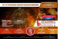 Workshop on Disaster Management (Disaster-2016)