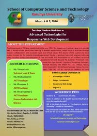 Advanced Technologies for Responsive Web Development