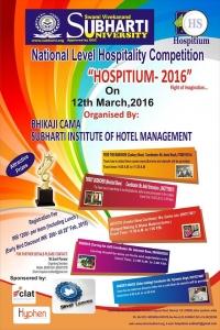 HOSPITIUM 2016 (National Level Hospitality Competition)