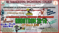 A One day National Level Robotic Championship (ROBOTRON 2K16)