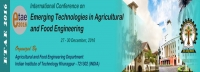 Emerging Technologies in Agricultural and Food Engineering: ETAE 2016