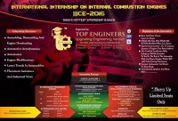 International Internship on Internal Combustion Engines (IIICE-2016)
