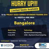 Project Based Summer Training/Internship Program at Bangalore