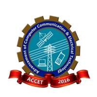 2016 1st International Conference on Advancement of Computer Communication & Electrical Technology (ACCET-2016)