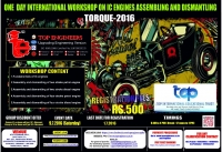 One day international workshop on IC Engines Assembling and Dismantling (TORQUE-2016)