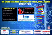 One Day International Workshop on Ethical Mobile Hacking  (MOBILE-2016)