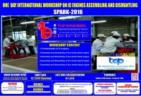 One Day International Workshop on Ic Engines Assembling And Dismantling (SPARK-2016)