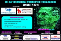 One Day International Workshop on Ethical Hacking (SECURITY-2016)