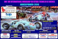 One Day International Workshop on Future Trends in Ic Engines (HORSEPOWER-2016)