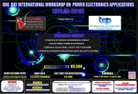 One Day International Workshop on Power Electronics Applications (SOLAR-2016)