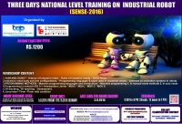 Three Days National Level Training On Industrial Robot (SENSE 2016)