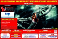 One Day International Workshop on Latest Trends In Bio-Technology And Bio-Medical (BIO-2016)
