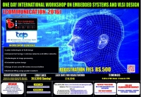 COMMUNICATION - 2016 (One Day International Workshop on Embedded Systems and VLSI Design)