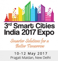 3rd Smart Cities India 2017 Exhibition and Conference