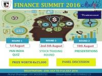 Finance Summit 2016
