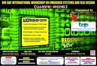 WAVE-2016 (One Day International Workshop on Embedded Systems and VLSI Design)