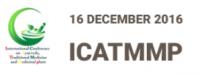 ICATMMP- International Conference on Ayurveda, Traditional Medicine and Medicinal Plants