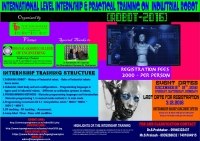 ROBOT 2016 - International Level Internship and Practical Training on Industrial Robot