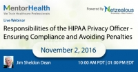 Responsibilities of the HIPAA Privacy Officer - Ensuring Compliance and Avoiding Penalties 2