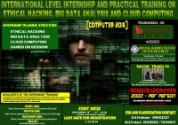 COMPUTER 2016 -International Level Internship and Practical Training on Ethical Hacking, Big Data Analysis and Cloud Computing