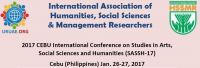 2017 CEBU International Conference on Studies in Arts, Social Sciences and Humanities (SASSH-17)