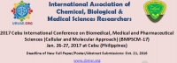 2017 Cebu International Conference on Biomedical, Medical and Pharmaceutical Sciences (Cellular and Molecular Approach) (BMPSCM-17)