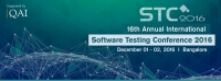 Software Testing Conference 2016 - STC 2016
