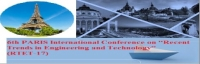 """6th PARIS International Conference on """"Recent Trends in Engineering and Technology"""" (RTET-17)"""