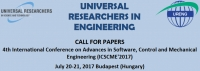 4th International Conference on Advances in Software, Control and Mechanical Engineering (ICSCME'2017)