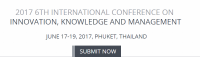 2017 6th International Conference on Innovation, Knowledge, and Management (ICIKM 2017)